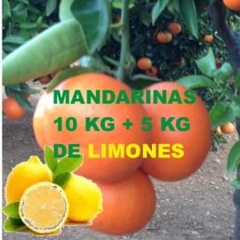 10 Kg DE MANDARINAS+5Kg DE LIMOMES