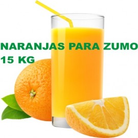 Naranjas para Zumo especial. Caja de 15 Kg.