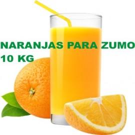 Naranjas para Zumo especial. Caja de 10 Kg.
