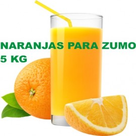 Naranjas para Zumo especial. Caja de 5 Kg.