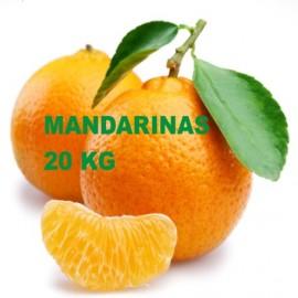 Mandarinas  Clemenvilla- . Caja de 20 Kg.