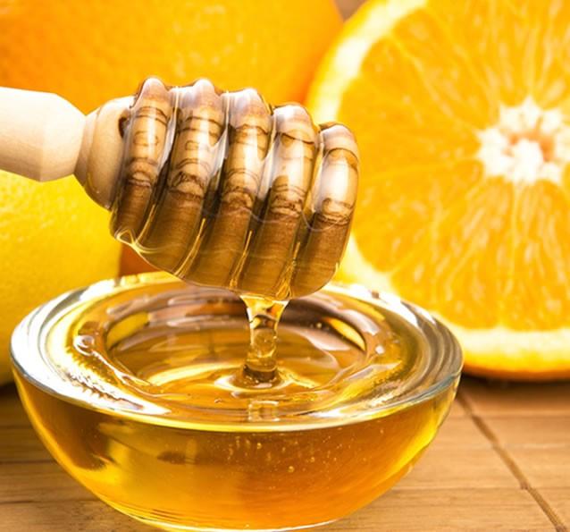 Naranjas y miel de azahar